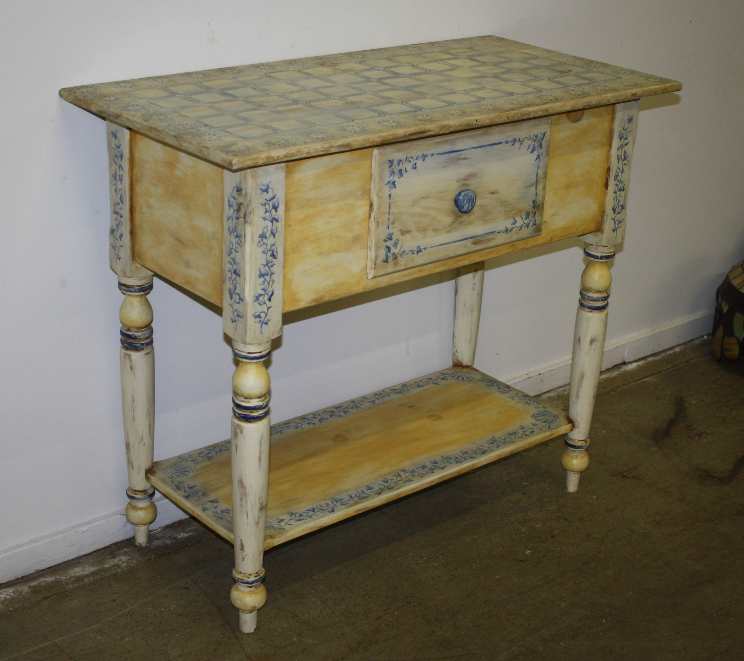Habersham Plantation Painted Server Jpg