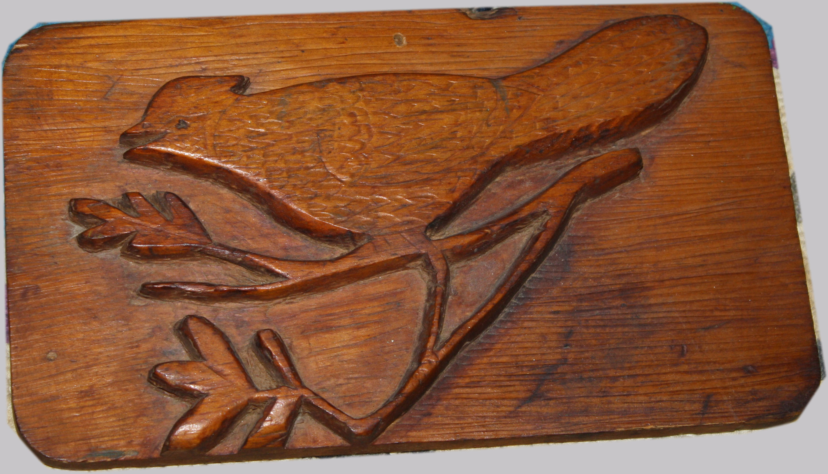 Relief carved folk art bird plaque g merrill s auction