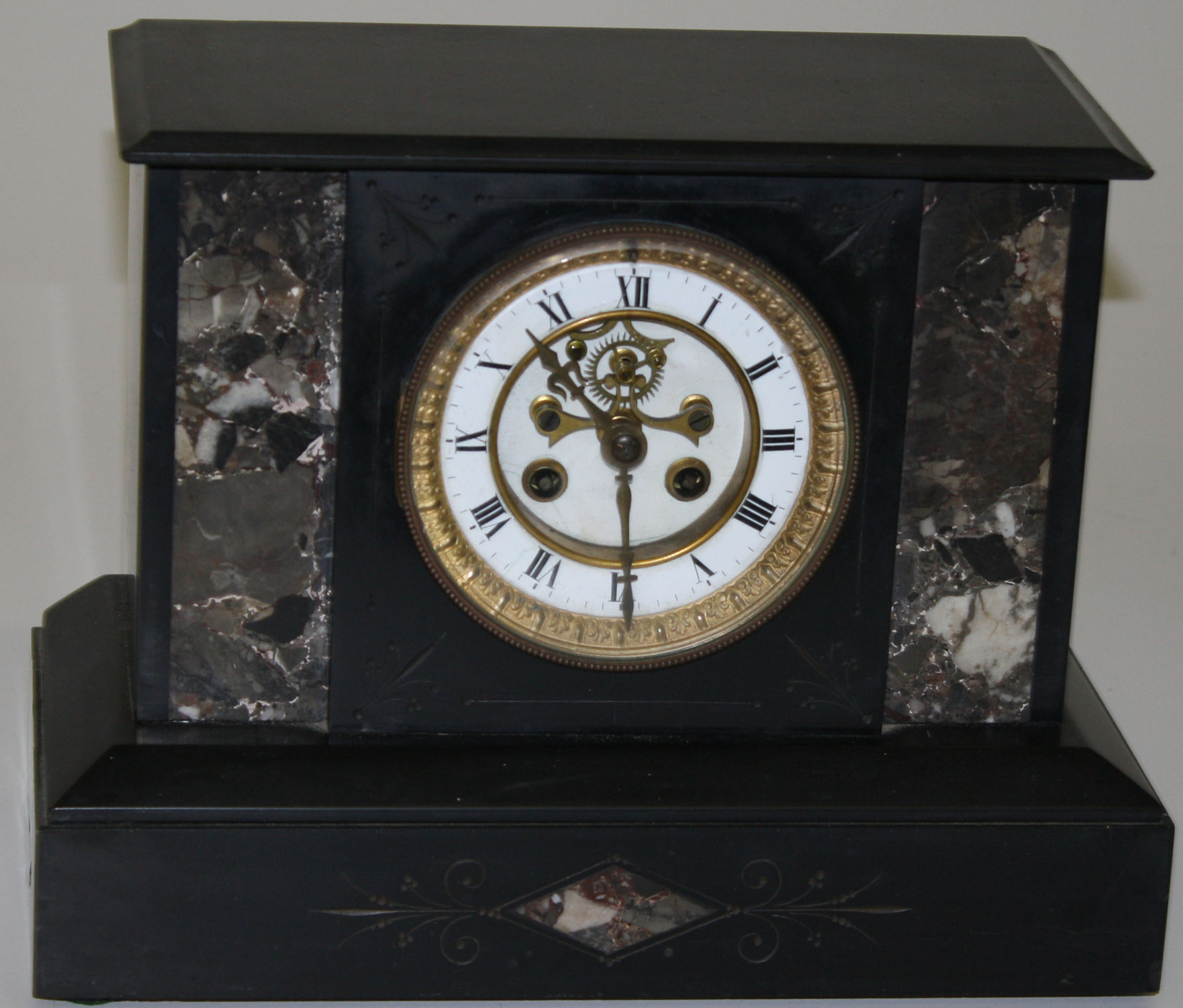 Seth Thomas Marble And Onyx Mantle Clock Jpg Merrill S