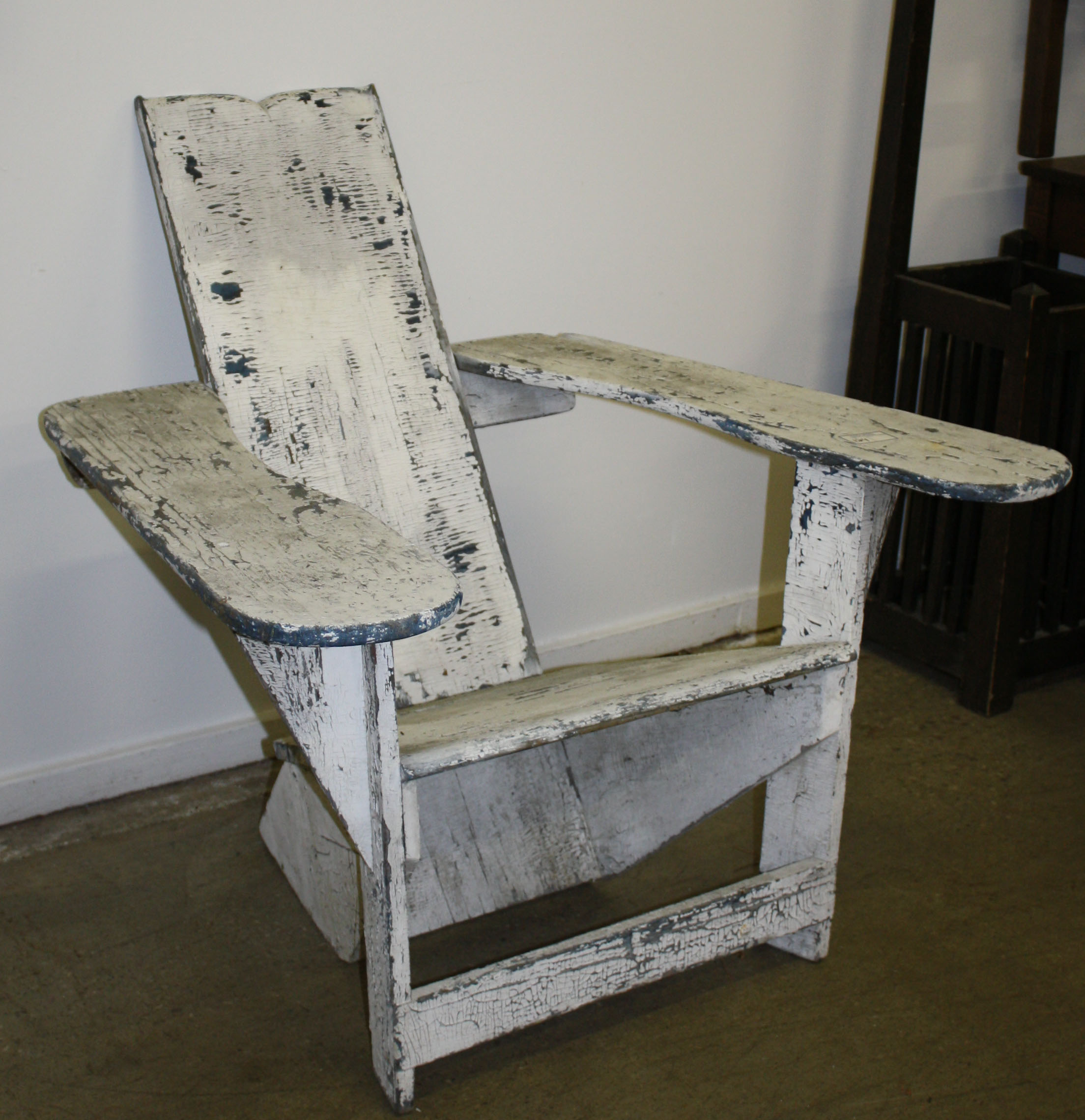 Signed Westport NY Chair In Original Condition $920.JPG